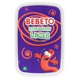 Bebeto Strawberry Laces Soft Candy
