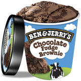 Ben & Jerry's Chocolate Fudge Brownie Kosher & Halal Certified Ice Cream 465 ml