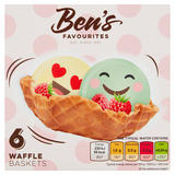 Ben's Favourites 6 Waffle Baskets 78g