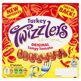 Bernard Matthews 8 Original Tangy Tomato Turkey Twizzlers 440g