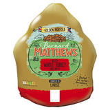 Bernard Matthews Golden Norfolk Basted Whole Turkey with Giblets Large