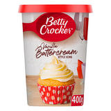 Betty Crocker Vanilla Buttercream Style Icing 400g