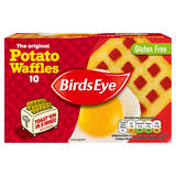 Birds Eye 10 The Original Potato Waffles 567g