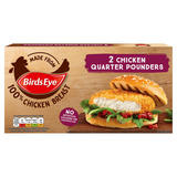 Birds Eye 2 Chicken Quarter Pounders 227g