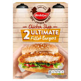 Birds Eye 2 Chicken Shop Ultimate Fillet Burgers 227g