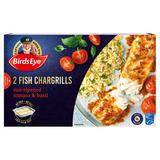 Birds Eye 2 Fish Chargrills Sun-Ripened Tomato & Basil 300g