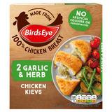 Birds Eye 2 Garlic & Herb Chicken Kievs 204g