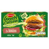 Birds Eye 2 Green Cuisine Meat-Free Burgers 200g
