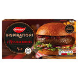 Birds Eye 2 Inspirations 5oz Steak Burgers 284g