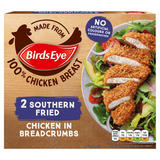 Birds Eye 2 Southern Fried Chicken in Breadcrumbs 180g