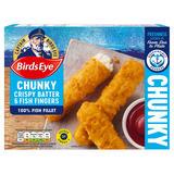 Birds Eye 6 Chunky Crispy Batter Fish Fingers 360g