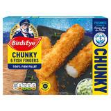 Birds Eye 6 Chunky Fish Fingers 360g
