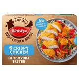 Birds Eye 6 Crispy Chicken in Tempura Batter 510g