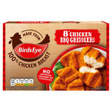Birds Eye 8 Chicken BBQ Griddlers 204g