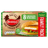 Birds Eye 8 Chicken Burgers 400g