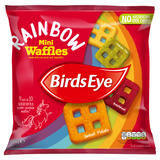 Birds Eye Rainbow Mini Waffles 534g