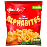 Birds Eye The Original Alphabites 456g