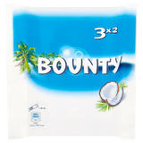 Bounty Coconut Milk Chocolate Duo Bars Multipack 3 x 57g