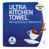 Breeze Ultra Kitchen Towel 4 Rolls