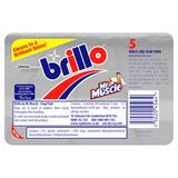 Brillo Multi-Use Soap Pads 5 Pads