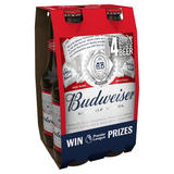Budweiser Beer 4 x 300ml