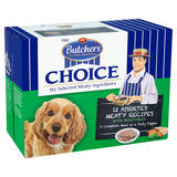 Butcher's Choice Assorted Meaty Recipes with Vegetables 12 x 150g