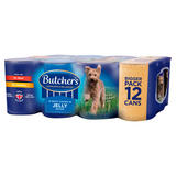 Butcher's Chunks in Jelly Recipes Wet Dog Food Tins 12 x 400g