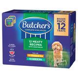 Butcher's Meat & Veg Wet Dog Food Trays 12 x 150g