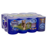 Butcher's Meaty Chunks in Jelly Dog Food Tins 12 x 400g