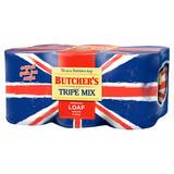Butcher's Tripe Mix Wet Dog Food Tins 6 x 400g