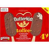 Butterkist Toffee and Popcorn Flavour Ice Cream Chocolate Sticks 256g