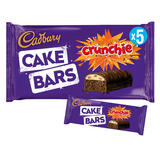 Cadbury 5 Crunchie Cake Bars