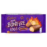 Cadbury 5 Mini Bonfire Logs Honeycomb Flavour