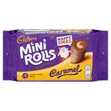 Cadbury 8 Mini Rolls Caramel