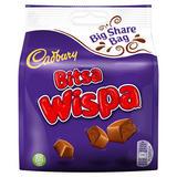 Cadbury Bitsa Wispa Chocolate Bag 222g