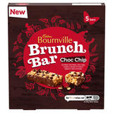 Cadbury Bournville Brunch Bar Choc Chip 5 Pack 160g
