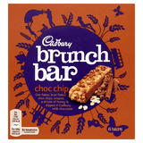Cadbury Brunch Bar Choc Chip 6 Pack 192g