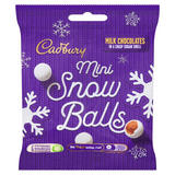 Cadbury Chocolate Mini Snowballs Bag 80g