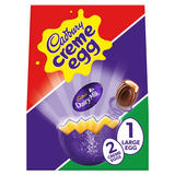 Cadbury Creme Egg with Large Easter Egg 233g