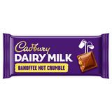 Cadbury Dairy Milk Banoffee Nut Crumble Chocolate Bar 110g