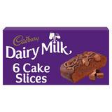 Cadbury Dairy Milk Cake Slices x 6