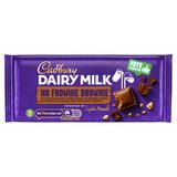 Cadbury Dairy Milk No Frownie Brownie Chocolate Bar 110g