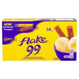 Cadbury Flake 99 Chocolate Bar 14 x 8.25g