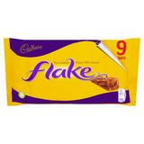 Cadbury Flake Chocolate Bar 9 Pack 180g