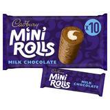 Cadbury Milk Chocolate Mini Rolls Cakes x10
