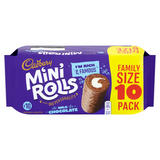 Cadbury Milk Chocolate Mini Rolls x 10