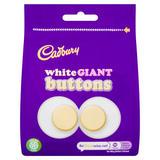 Cadbury White Giant Buttons Chocolate Bag 95g