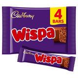 Cadbury Wispa Chocolate Bar 4 Pack 94.8g