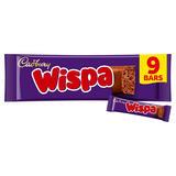 Cadbury Wispa Chocolate Bar 9 Pack 213.3g