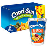 Capri-Sun Tropical 15 x 200ml